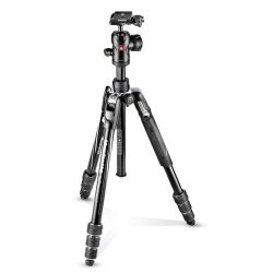 Manfrotto Kit Befree Advanced nero in alluminio con chiusura Twist