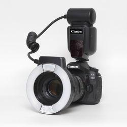 Kit Canon 90D + Canon 100/2,8L IS macro + Flash Canon MR14EX