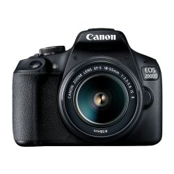 CANON EOS 2000D+EFS 18-55 IS II