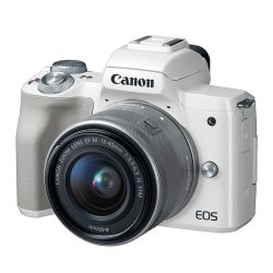 Canon EOS M50 + 15-45/3,5-6,3 IS STM White