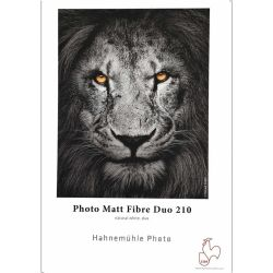 Hahnemühle Photo Matt Fibre Duo 210g/mq A3+ - 25 fogli