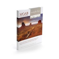 Sample Box carte Moab – 2 fogli A4 x 11 tipi di carta
