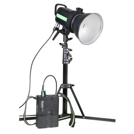Phottix Indra 500 TTL Studio Light and Battery Pack