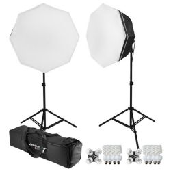 WESTCOTT uLite Kit LED con due softbox
