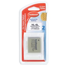 Hähnel Batterie per macchine digitali Canon HL 6L