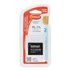 Hähnel Batterie per macchine digitali Canon HL 11L