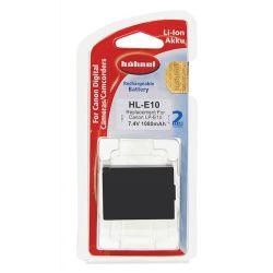 Hähnel Batterie per macchine digitali Canon HL E10