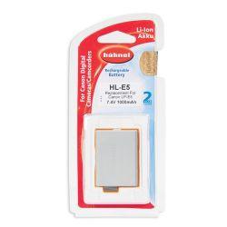 Hähnel Batterie per macchine digitali Canon HL E5