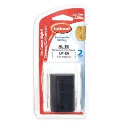Hähnel Batterie per macchine digitali Canon HL E6