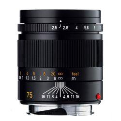 Leica 75mm f2,5 M SUMMARIT ASPH. NERO