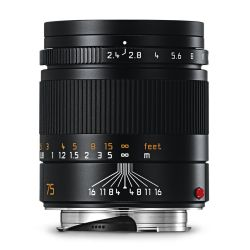 Leica 75mm f2,4 SUMMARIT NERO 11682