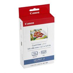 Set carta e inchiostro Canon KP-36IP formato cartolina - 36 stampe