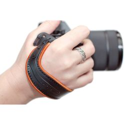 Spider Hand Strap Light per Mirrorless Arancione