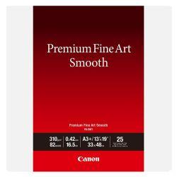Carta Canon Premium Fine Art Smooth FA-SM1 A3+ - 25 fogli