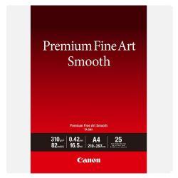 Carta Canon Premium Fine Art Smooth FA-SM1 A4 - 25 fogli