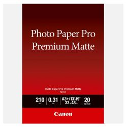 Carta fotografica Canon Premium Matte PM-101 A3+ - 20 fogli