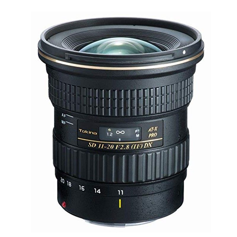 Tokina AT-X 11-20mm f2,8 Pro DX Asph. per Canon
