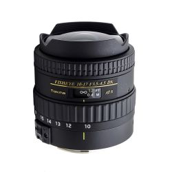Tokina AT-X 10-17mm f3,5-4,5 DX Fish Eye per Nikon