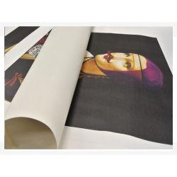Stampa formato 50x75 su tela Canvas Hahnemühle 450gr.