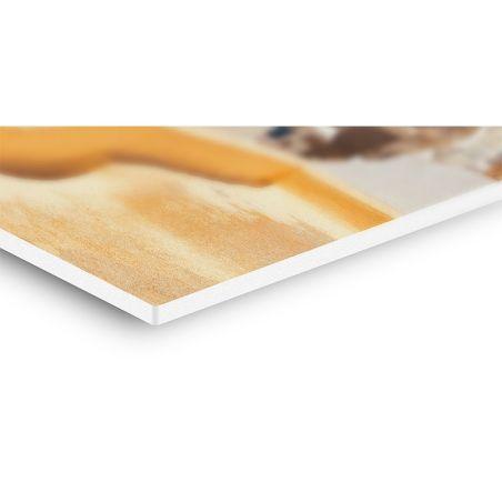 Stampa 20x30 Montaggio e plastificazione su pannello Forex 5mm