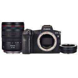 Noleggio Canon EOS R + RF 24-105 + anello adattatore RF-EF
