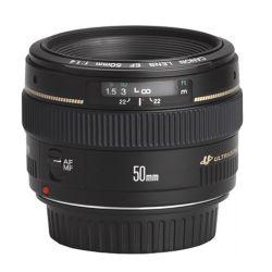 Noleggio Canon EF 50/1,4
