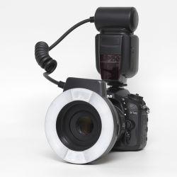 Kit Nikon D7500 + Nikon 85/3,5 micro + Flash Anulare Mcoplus 14 EXT