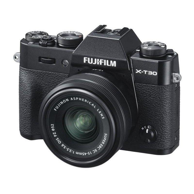 FUJIFILM X-T30 + XC 15-45 black