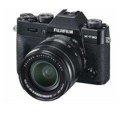 FUJIFILM X-T30 + XF 18-55 black