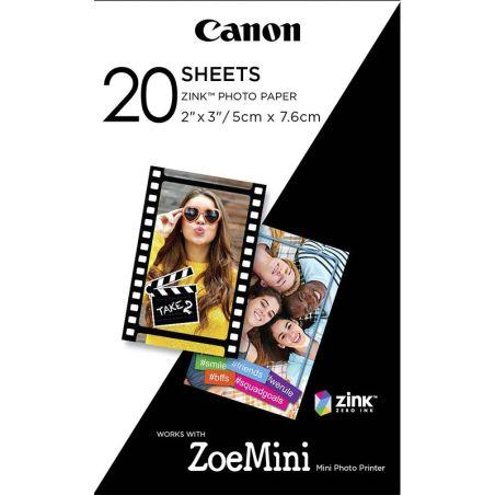 Canon ZINK Paper ZP2030 20 fogli