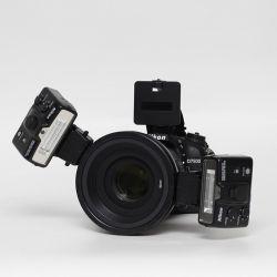 Kit Nikon D7500 + Nikkor 105/2,8 + flash Nikon R1