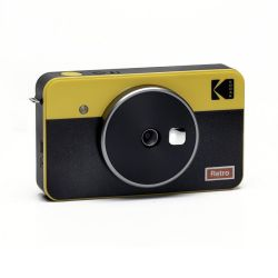 KODAK MINI SHOT 2 CAMERA COMBO RETRO C210RY YELLOW