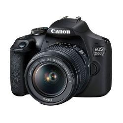 CANON EOS 2000D+EFS 18-55 IS II