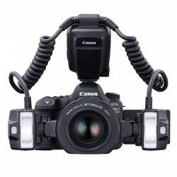 Kit Canon 6D Mark II + Canon 100/2,8L IS macro + Flash Canon MT26EX RT