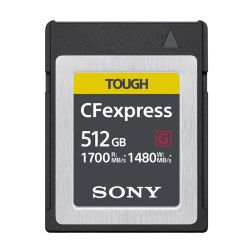 SONY TOUGH CFexpress B 512GB