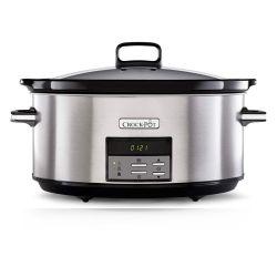Crock-Pot Slow Cooker - 7,5 L Silver Digitale