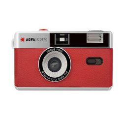 AgfaPhoto Camera 35mm red
