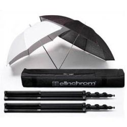 Kit stativi+ombrelli 2x30101, 26351, 26350, 33220 economy