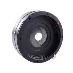 QUENOX Adattatore Canon - Fuij X con diaframmi