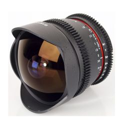 Samyang 8/3,8 CS II Fish-eye Video per Canon
