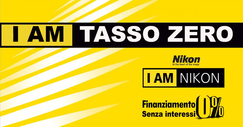 Nikon senza interessi